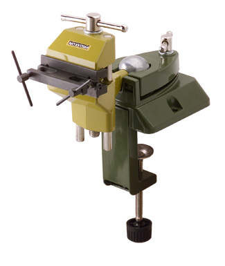 Proxxon Vise with Our Rivet Tool